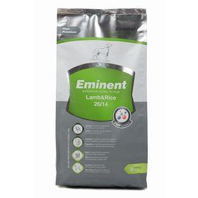 Сухой корм Eminent 26/14 для собак всех пород, ягненок/рис, 3 кг.