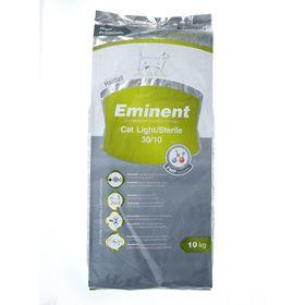 Сухой корм Eminent Light/Sterile 30/10 для кошек с лишним весом и стерилизованных, 10 кг