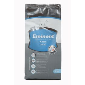 Сухой корм Eminent Kitten 34/20 для котят, 2 кг