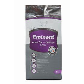 Сухой корм Eminent Adult Cat 32/14 для кошек, с курицей, 2 кг.