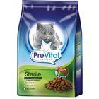 Сухой корм PreVital для стерилизованных кошек, с птицей, 350 г