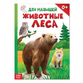 Книжка картонная «Животные леса», 10 стр. вместе с обложкой