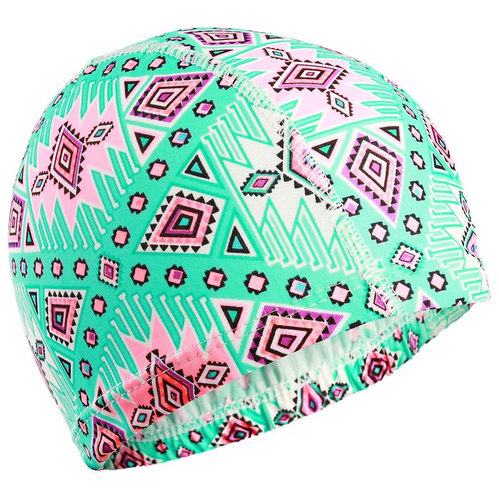 Шапочка для плавания, подростковая, цвета МИКС