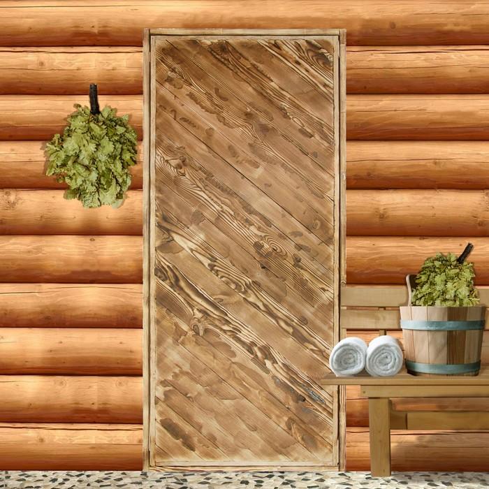 """Дверь глухая """"Диагональ"""", 180х70см, """"Добропаровъ"""""""