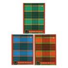 Блокнот А6, 40 листов на скрепке «Шотландка», МИКС