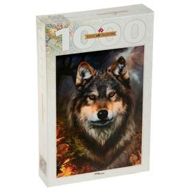 Пазлы «Бенте Шлик. Волк», 1000 элементов