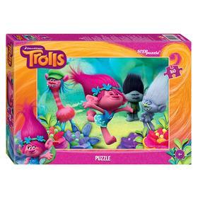 Пазлы Trolls, 160 элементов