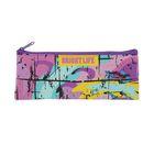 Пенал мягкий «Абстракция фиолетовая», для девочки, 1 отделение, 75 х 195 мм, ПМП7-20