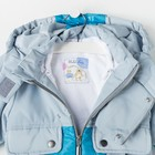 Комплект детский (куртка и полукомбинезон), рост 92 см, цвет индиго - фото 105564007