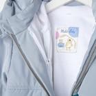 Комплект детский (куртка и полукомбинезон), рост 80 см, цвет индиго - фото 105564017