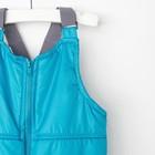 Комплект детский (куртка и полукомбинезон), рост 80 см, цвет индиго - фото 105564019