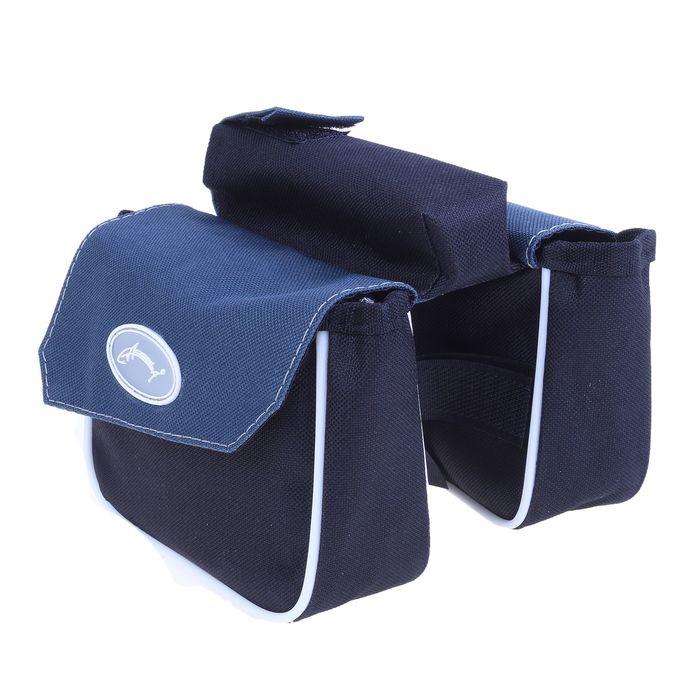 Велосумка на раму Compact Acoola, цвет микс