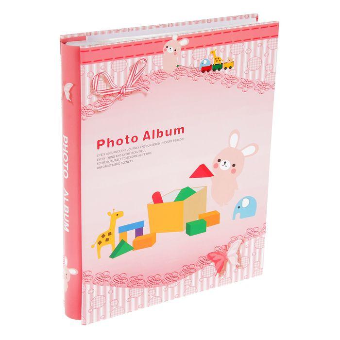 """Фотоальбом на 80 фото 10х15 см """"Детские игрушки"""" в коробке МИКС 27,3х22х5 см"""