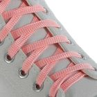 Шнурки для обуви, d = 10 мм, 100 см, пара, цвет розовый