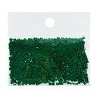 Стразы для алмазной вышивки, 10 гр, не клеевые, квадратные 2,5*2,5мм 909 Emerald Green DK