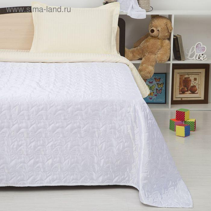 Покрывало детское Этель Ультрастеп Нежность, размер 150х215 см, цвет белый, 90 г/м2