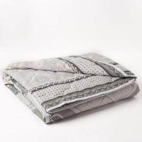 Одеяло 1,5сп облег 145х205 овечья шерсть 200г/м, бязь МИКС 120г/м хл100% Ош