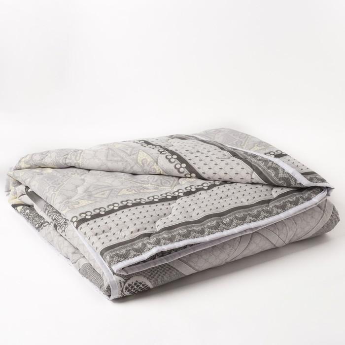 Одеяло 1,5сп облег 145х205 овечья шерсть 200г/м, бязь МИКС 120г/м хл100% - фото 105554918