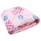 Одеяло 1,5сп облег 145х205 микрофайбер 200г/м, бязь МИКС 120г/м хл100%