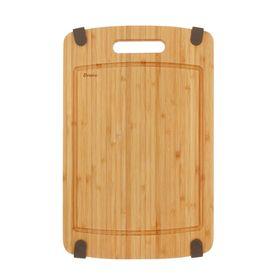 Доска разделочная 36х23,5х1,5 см с силиконовыми ножками, бамбук