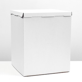 Confectionery packaging, box white 50 x 50 x 64 cm