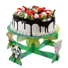 Stand cake Best friends, animals