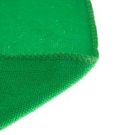 Салфетка для автомобиля TORSO, микрофибра, тонкая, 40х60 см, набор 3 шт. микс