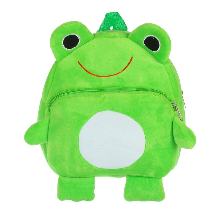 Мягкий рюкзак «Весёлый лягушонок»