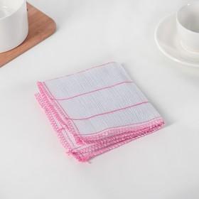 Салфетка для мытья посуды Доляна, 5 слоёв, 30×30 см, 1 шт/уп