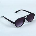Очки солнцезащитные «Милан», оправа чёрная, линзы фиолетовые