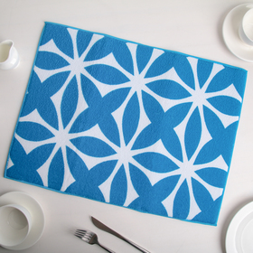 {{photo.Alt || photo.Description || 'Салфетка для сушки посуды Доляна «Призма», 38×51 см, микрофибра, цвет голубой'}}