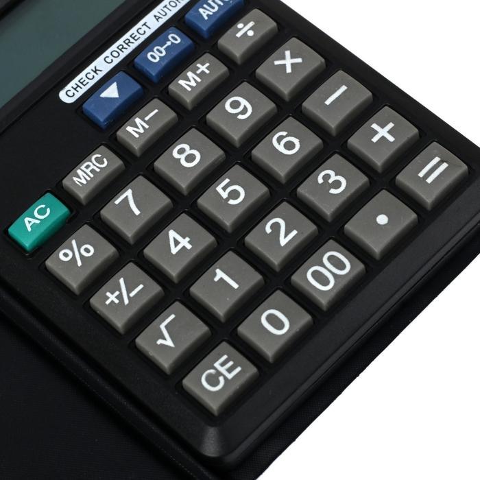 Калькулятор карманный, 10-разрядный ,150V, двойное питание - фото 515416653