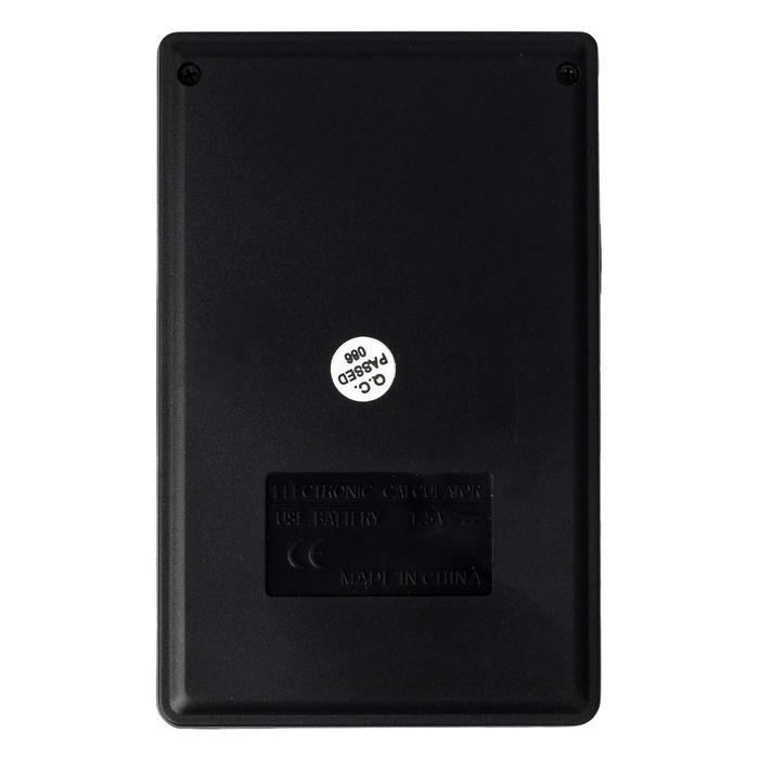 Калькулятор карманный, 10-разрядный ,150V, двойное питание - фото 515416655