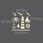 """Чипборд из картона (10 шт) """"Морская прогулка №2"""" высота 0,5 - 2,8 см"""