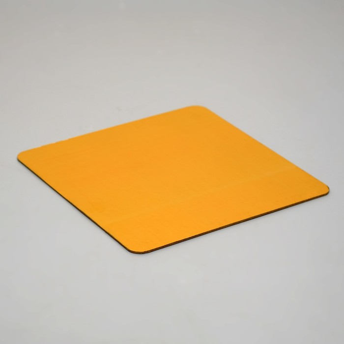 Подложка, золото-жемчуг, 26 х 26 см, 3,2 мм - фото 308035235