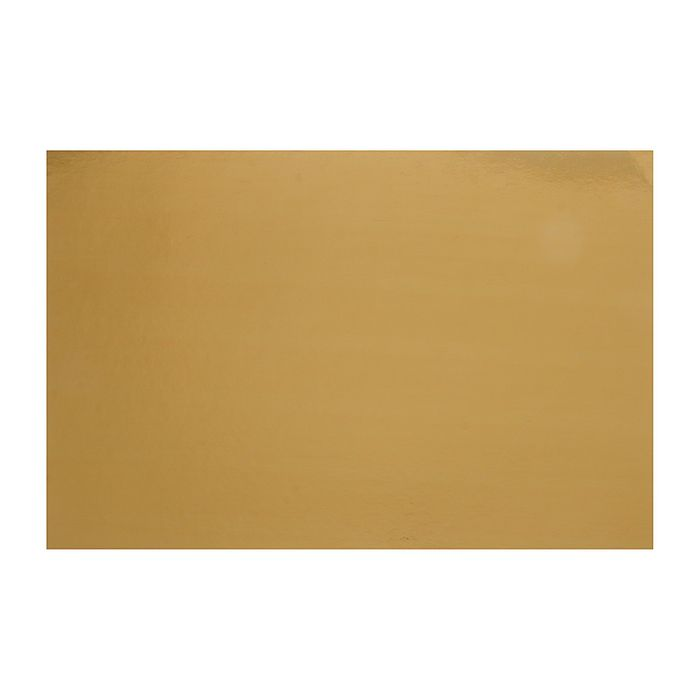 Подложка 40 х 60 см, золото, 0,8 мм