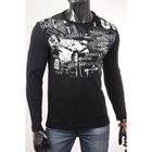 Джемпер мужской арт.0775, цвет чёрный, размер 2XL