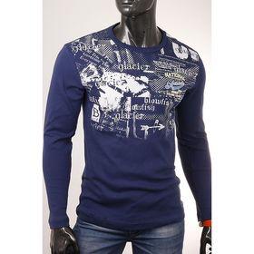 Джемпер мужской арт.0775, цвет джинс, размер M Ош