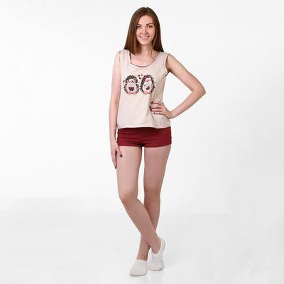 Пижама женская  Меланжики 227531  меланж, р-р 50