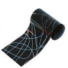 Переводная фольга для дизайна ногтей, 4х50см, разноцветная