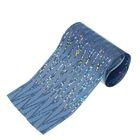 Переводная фольга для дизайна ногтей, 4х50см, цвет синий