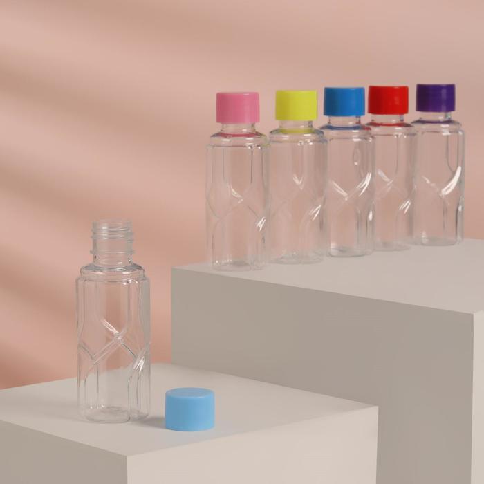 Бутылочка для хранения, 50мл, цвет МИКС