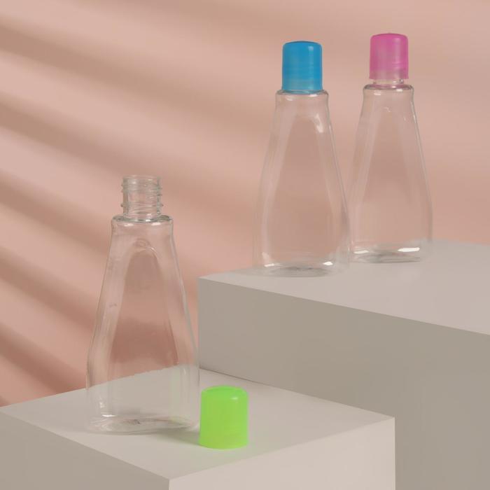 Бутылочка для хранения, 100мл, цвет МИКС