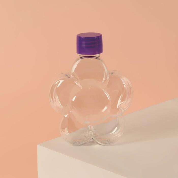 """Бутылочка для хранения """"Цветочек"""", 100мл, цвет МИКС"""