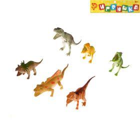 Набор динозавров «Диноленд», 6 фигурок