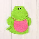 Мочалка-рукавичка, цвет МИКС Я0027602