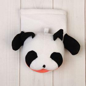 Мочалка-рукавичка «Панда», цвет МИКС