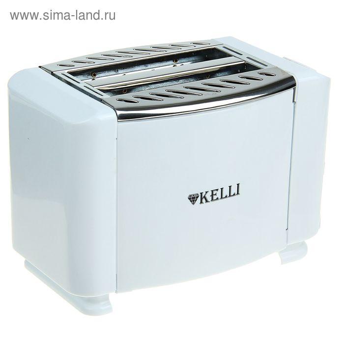 Тостер KELLI KL-5068, 800 Вт, 7-и позиционный термостат, подогрев булочек