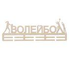 """Заготовка для творчества медальница """"Волейбол"""", 45х19см"""