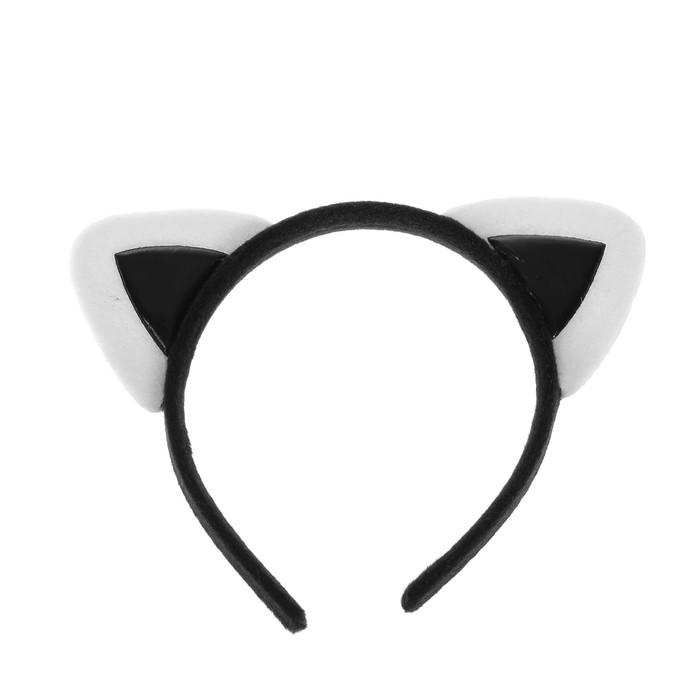 "Carnival headband ""Ears"", black"